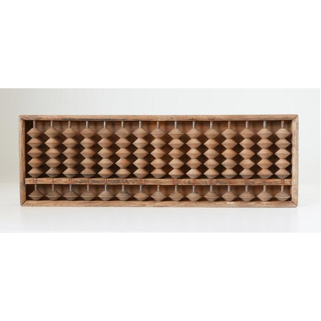 1940s 1940s Vintage Wooden Abacus For Sale - Image 5 of 5