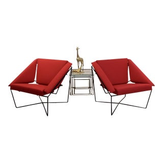 Pair of Van Speyk Easy Chairs by Rob Eckhardt