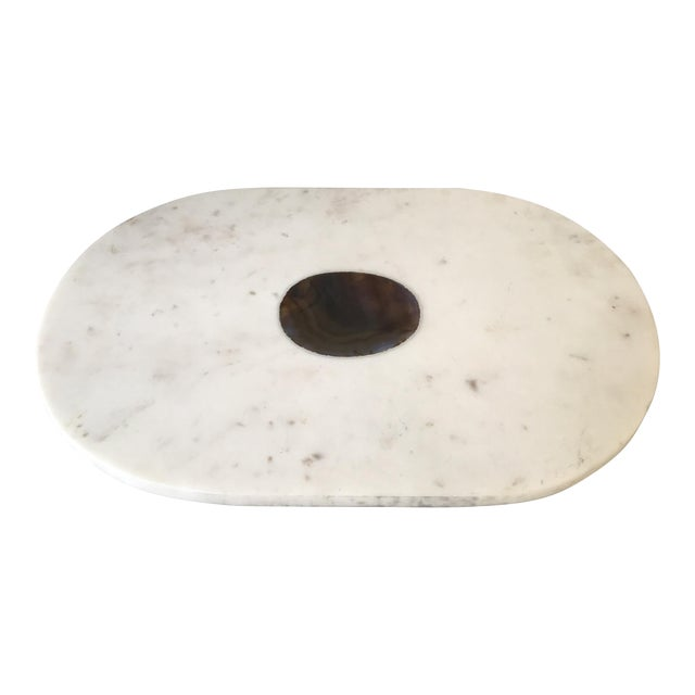 Vintage Stone Accented Kitchen Board For Sale