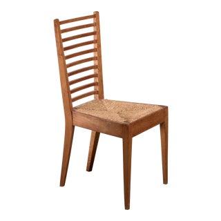 Luigi Caccia Dominioni Wood Side Chair, Italy, 1950s