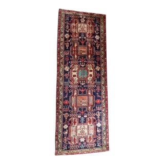 Liberty Semi Antique Ardabil Persian Runner - 3′5″ × 9′6″