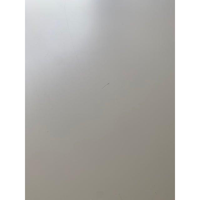 "White Postmodern Roche Bobois ""Furtif"" Writing Desk For Sale - Image 8 of 11"