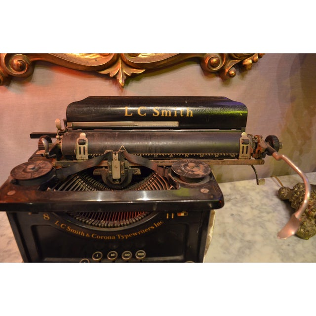 1930s Lc Smith & Corona Typewriter For Sale - Image 5 of 7