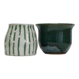 Hand Thrown California Pottery - A Pair