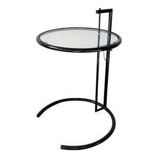 Modern Eileen Gray Style Side Table For Sale