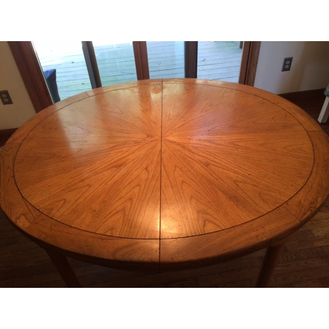 Baker Asian-Style Canadian Elm Table - Image 3 of 6