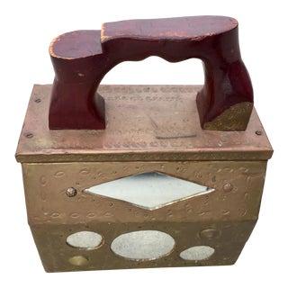 1960s Vintage Shoe Shine Box For Sale