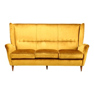 Gio Ponti - Isa - Bergamo / I.s.a., Italy Sofa Gio Ponti for Isa Bergamo of 1950 For Sale