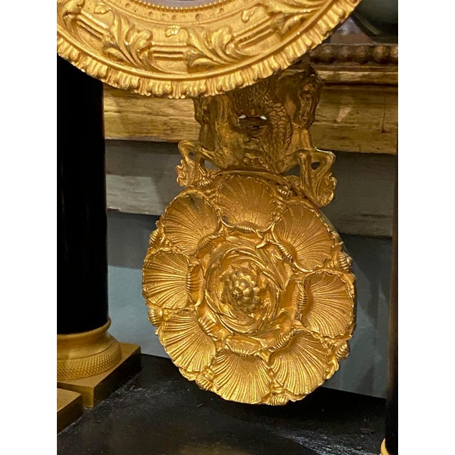 French 19th Century French Portico Mantel Clock For Sale - Image 3 of 10