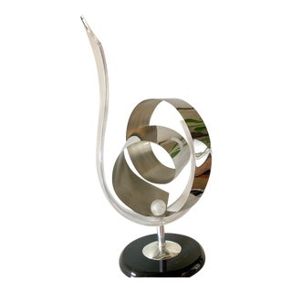 Shlomi Haziza Lucite Sculpture For Sale