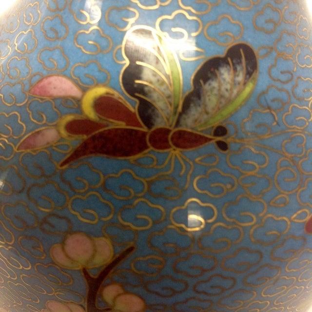 Meiji Japanese Cloisonné Vase - Image 8 of 9