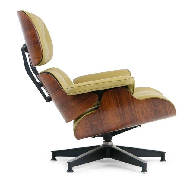 Early Production Model 670/671 Lounge Chair & Ottoman by Charles & Ray Eames For Sale In Los Angeles - Image 6 of 13