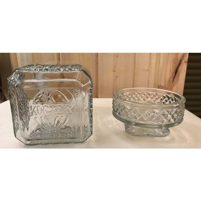 Vintage Square Canister Jar - Image 10 of 11