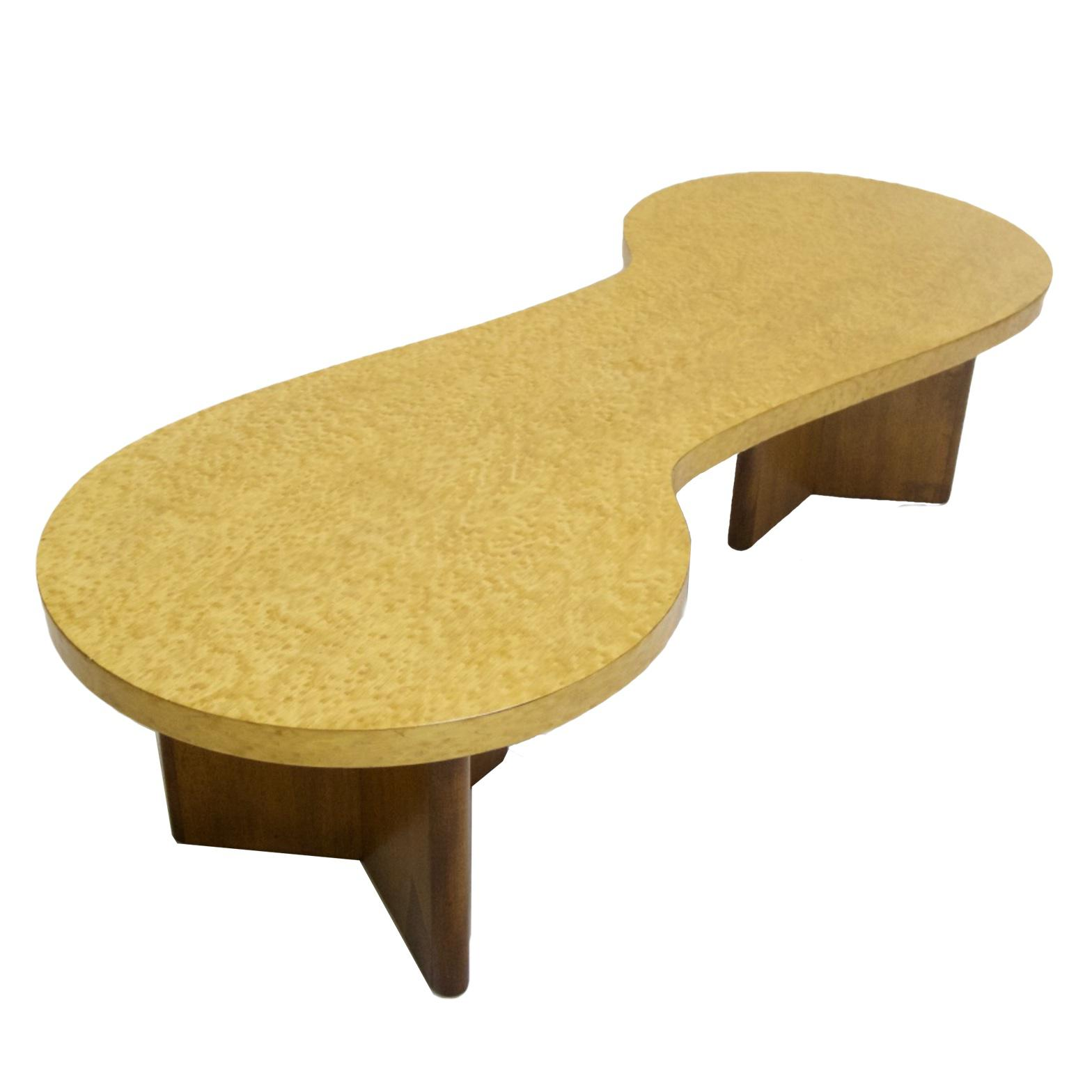 Excellent Rare Andrew Szoeke Associates Biomorphic Coffee Table in