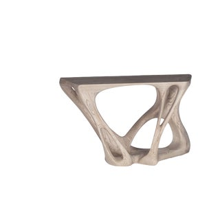 Custom Petra Console Table For Sale