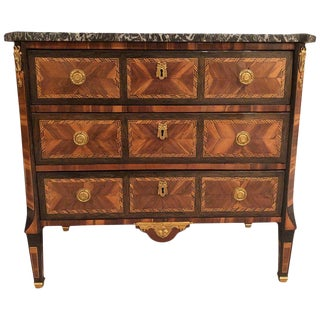 1780 French Transitional Commode For Sale