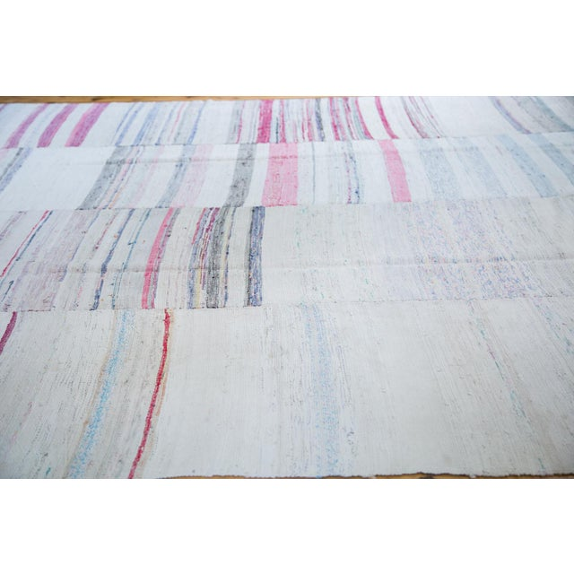 "Vintage Rag Rug Carpet - 7'7"" X 10'9"" - Image 2 of 4"