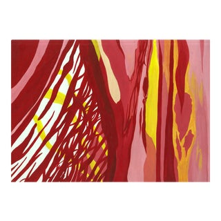 Reds & Yellows Abstract Painting
