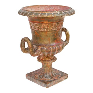 Vintage Grecian Urn Planter For Sale