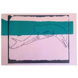 """Image of Andy Warhol Estate Vintage 1991 Rare Collector's Pop Art Lithograph Print """" La Plata River Dolphin - Vanishing Animals """" 1986 For Sale"""