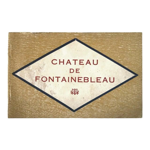 French Chateau De Fontainbleau Souvenir Postcard Book For Sale