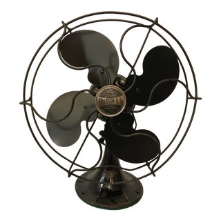 1934 Emerson Jr 10-Inch Ocillating Electric Fan For Sale