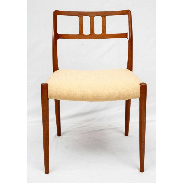 Set of 4 Niels Moller Model #79 Dining Chairs Designed in 1966 and Produced by J.L. Moller