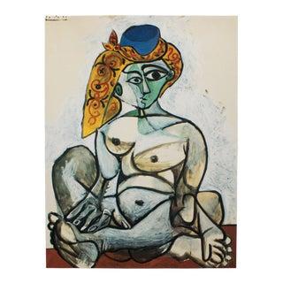 "1985 Pablo Picasso, ""Femake Nude in a Turkish Bonnet"" Parisian Photogravure For Sale"