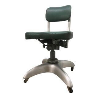 Industrial Office Tanker Desk Chair by Good Form For Sale