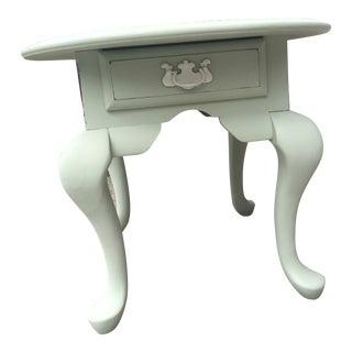 1980s Light Mint Side Table For Sale