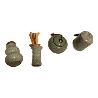 Tea Holder Pieces - Set of 4 For Sale