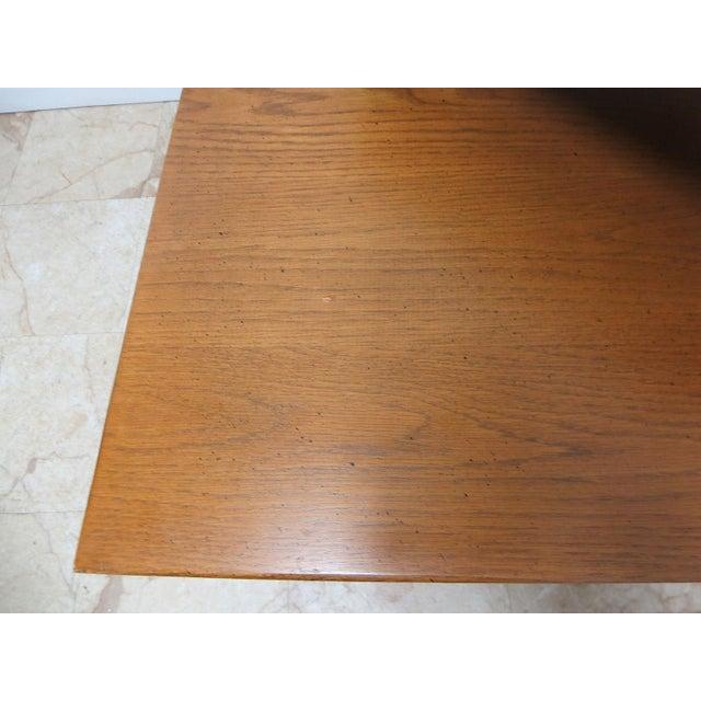 1970s Brandt Ranch Oak End Table For Sale - Image 5 of 11