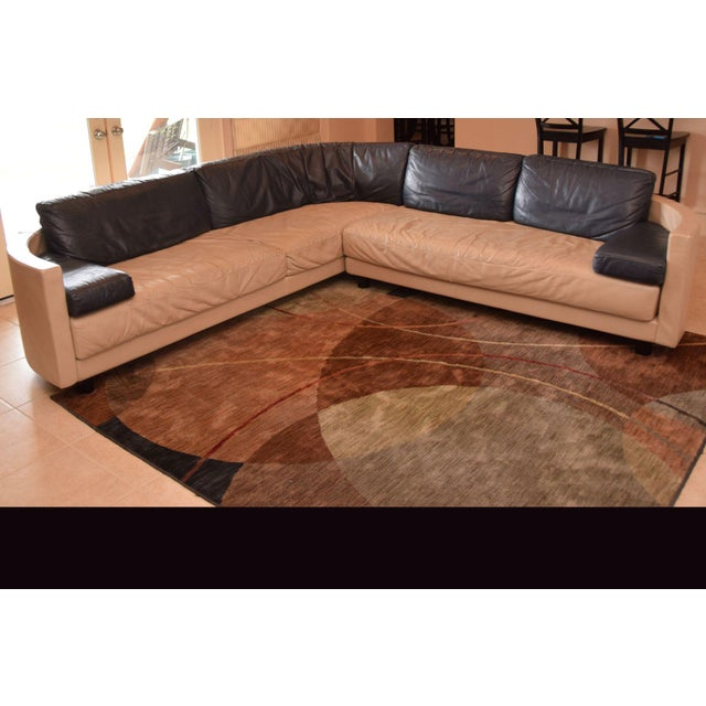 High End Designer Italian leather sectional by i4 Mariani purchased from Pace International. Original list price was...