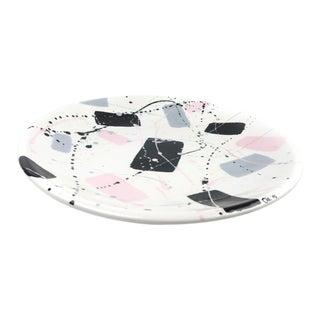 Vintage 1990s Ceramic Serving Platter For Sale