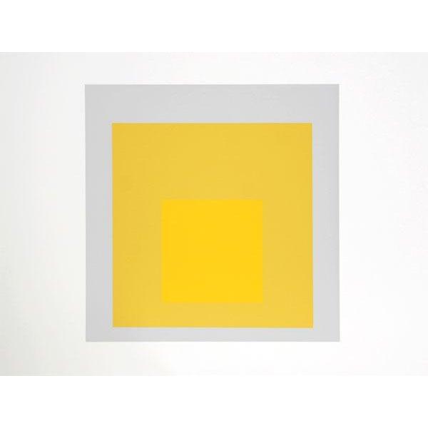 "Josef Albers ""Portfolio 2, Folder 4, Image 2"" Print - Image 2 of 3"