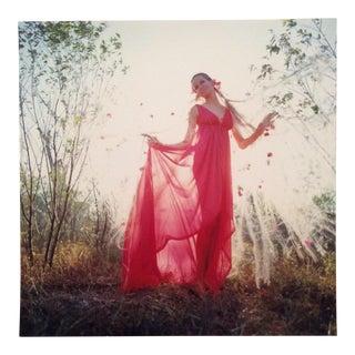 Original Verushka Stamped Photo by Franco Rubartelli Vogue, 1968