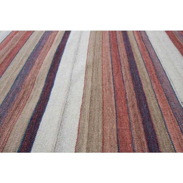"Apadana - Modern Kilim Rug, 5'8"" x 8'1"" For Sale - Image 4 of 7"