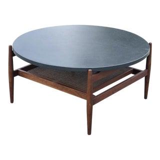 Jens Risom Slate Coffee Table