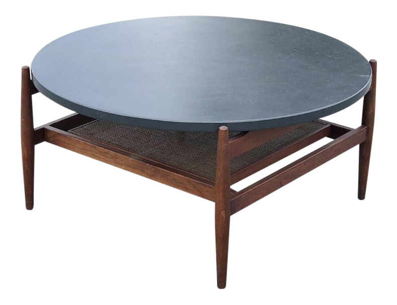 Jens Risom Slate Coffee Table