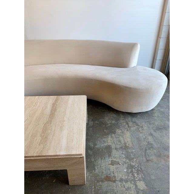 Mid Century Style Cloud Sofa For Sale In Los Angeles - Image 6 of 13