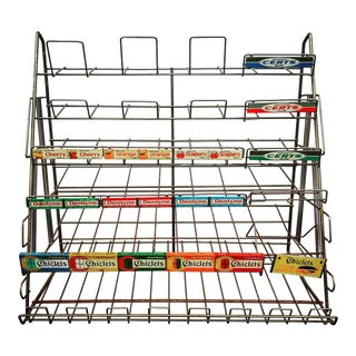 Vintage Candy Store Display Rack For Sale