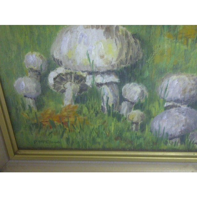 """Mushrooms in a Field"" by F. McCloud - Image 4 of 6"