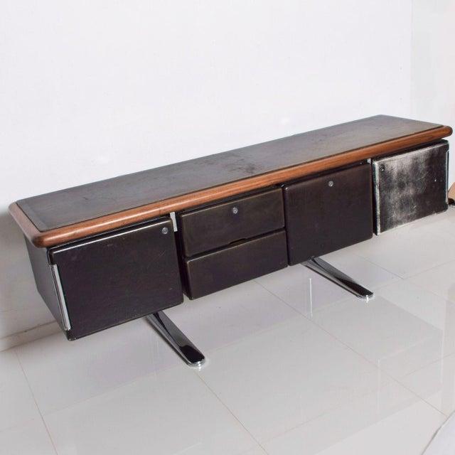 Knoll International Warren Platner Huge Executive Sideboard Credenza, Knoll International 1960s For Sale - Image 4 of 11