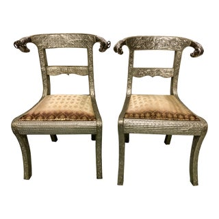 Anglo Indian Regency Chairs - a Pair