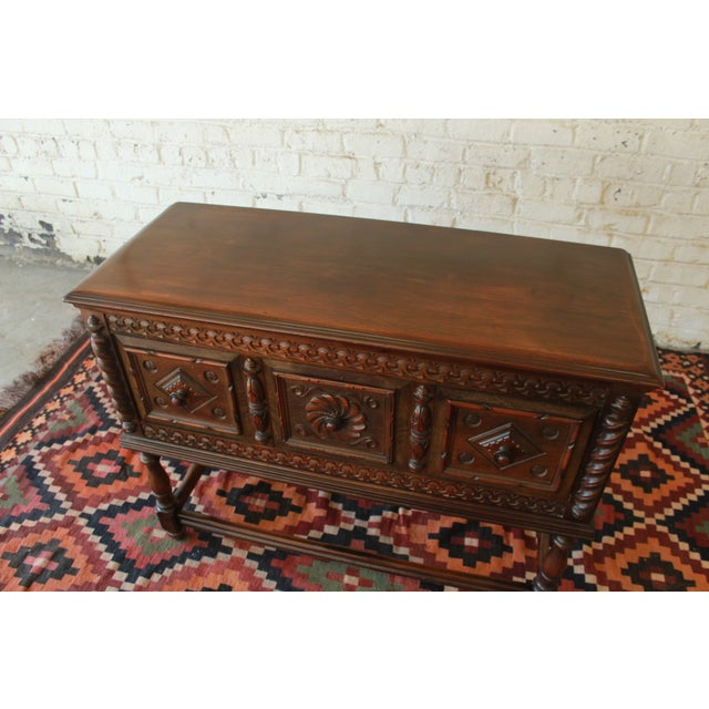 Limbert Furniture Co. Elizabethan-Style Sideboard - Image 3 of 9