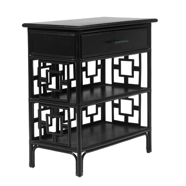 Wood Sobe End Table - Black For Sale - Image 7 of 7