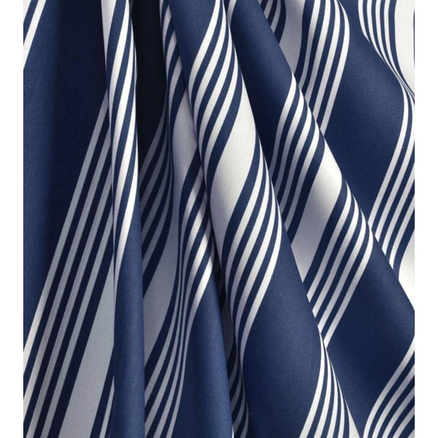 Clear Water Stripe Blue Fabric - 5 Yards - Image 3 of 3