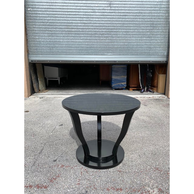 1940s Vintage Classic French Art Deco Accent Table For Sale - Image 12 of 13