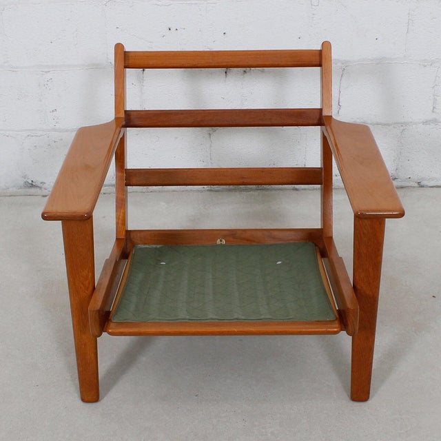 Hans Wegner For Getama Lounge Chair & Ottoman - Image 6 of 9