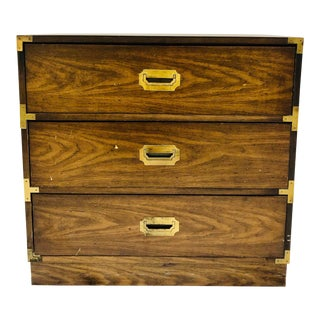 Vintage Campaign Style Bachelors Chest For Sale
